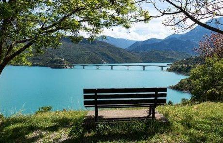 λίμνη κρεμαστών θέα