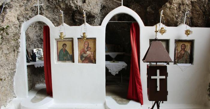 σπηλιά αγίου θωμά